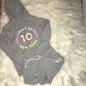 Victoria Secret sweat suit
